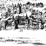 "Wyngaerde's ""Panorama of London in 1543"" 26. Durham House Commons Wikimedia"