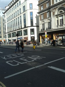 Durham House Street is to the left of Top Shop.