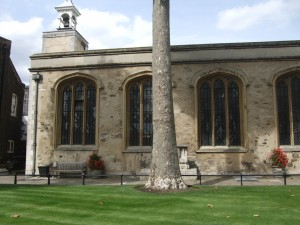 St Peter ad Vincula where Jane and Guildford are buried