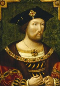 Henry VIII Unknown Artist Oil on panel, c.1520 (c) National Portrait Gallery