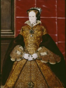 Mary I Hans Eworth Oil on panel, 1554 (c) Society of Antiquaries of London