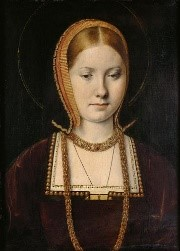 Catherine of Aragon (wikicommons; public domain)