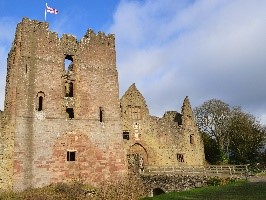 Ludlow Castle, residence of Arthur and Catherine for five months from mid-December 1501