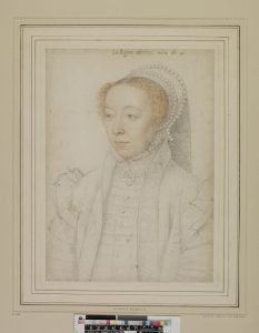 François Clouet, Portrait of Catherine de' Medici, British Museum, London ©Trustees of the British Museum.
