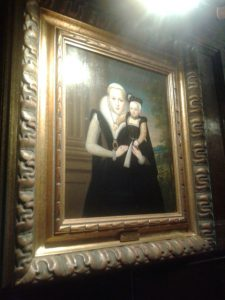 Portrait of Katherine Grey in the Astor Wing at Hever Castle