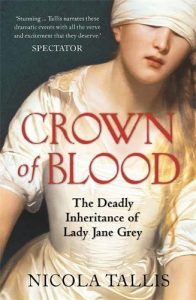 Dr Nicola Tallis – Talk about Lady Jane Grey – 2nd December