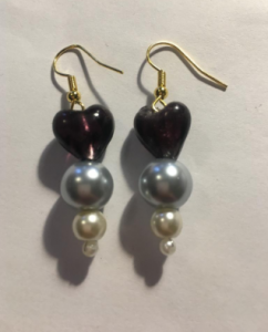 Buy Lady Jane Grey earrings from The Tudor Pearl